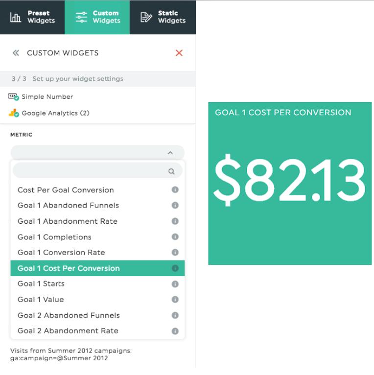 cost per goal conversion