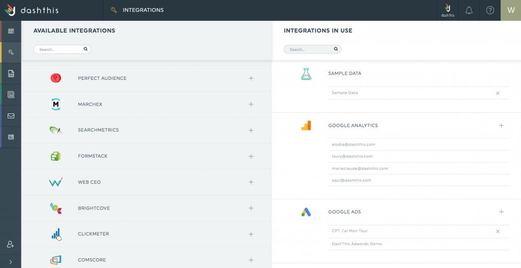 Integration Manager formstack